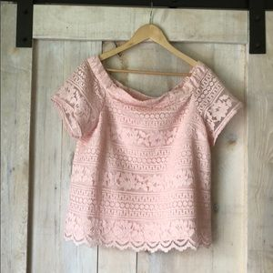 1. State Pink top